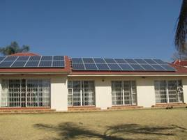 House with 8.5kw PV Solar System